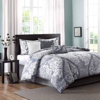 Queen Size Comforter Sets Awesome Madison Park Mp10 501 Vienna 7 Piece forter Set Queen Grey