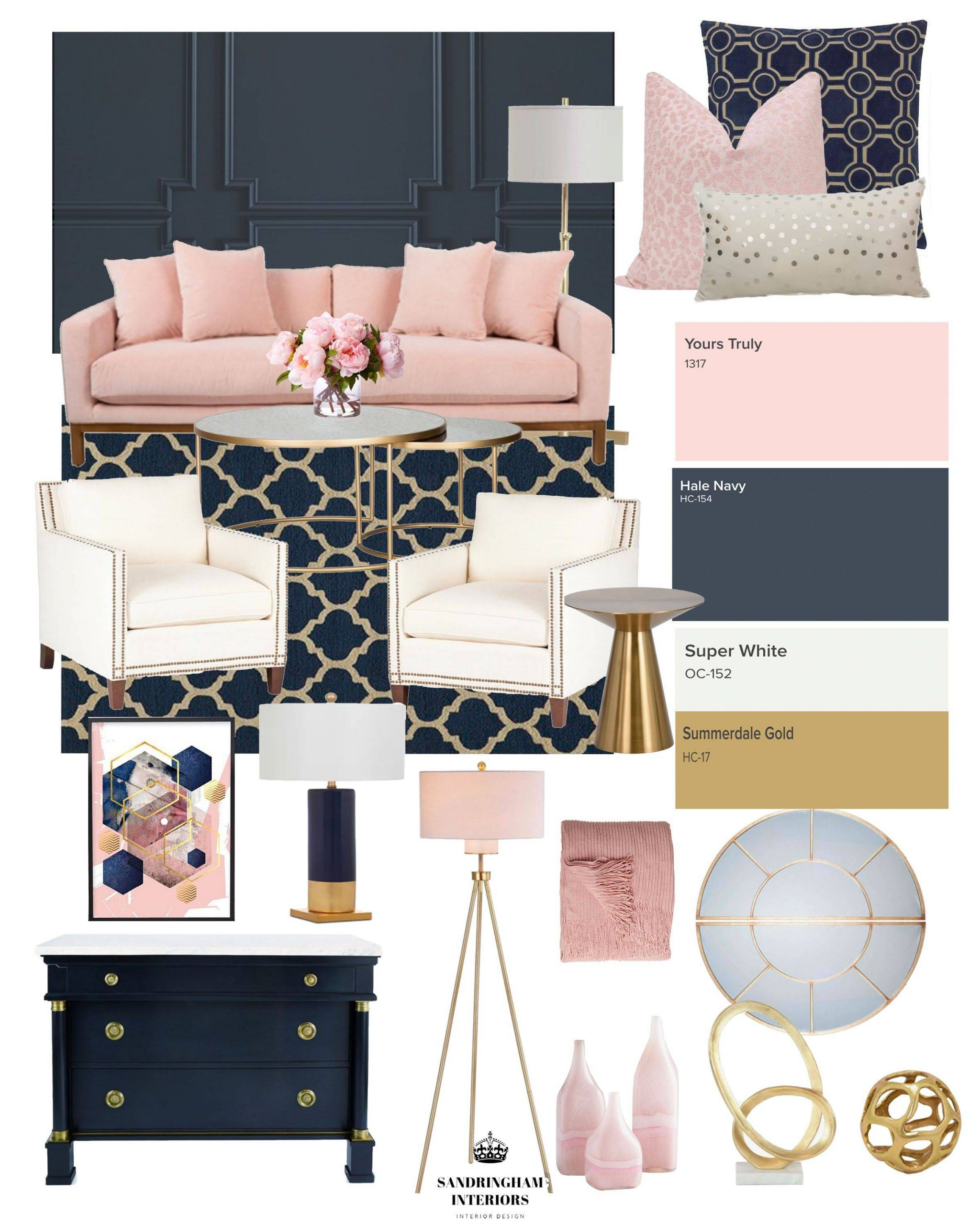 Room Colors and Moods Elegant E Of My Favorite Color Binations is Navy and Pink so