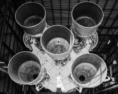 Saturn Rocket at Kennedy Space Center