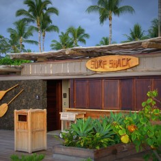 Surf Shack for activity rentals