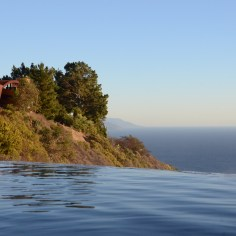 View of Cliff House from Infinity Soaking Pool