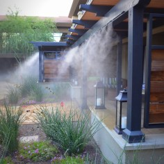 Misters to keep cool