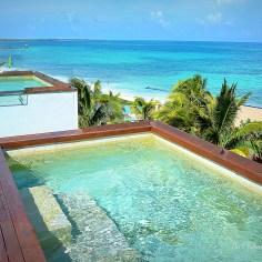 Deluxe Ocean View Beach Suite Rooftop Pool