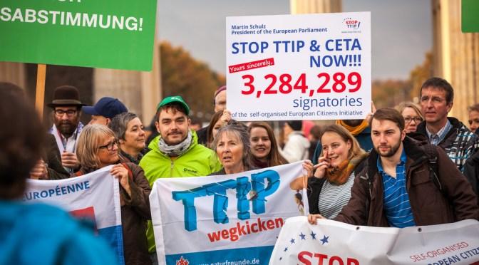TTIP ehk  miks me ei peaks enda kaubandust veel vabamaks muutma
