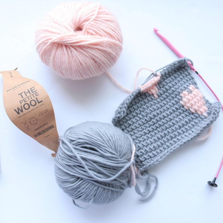 Tunisian crochet patterns on Noor's knits blog featured by Bluprint (formerly Craftsy).