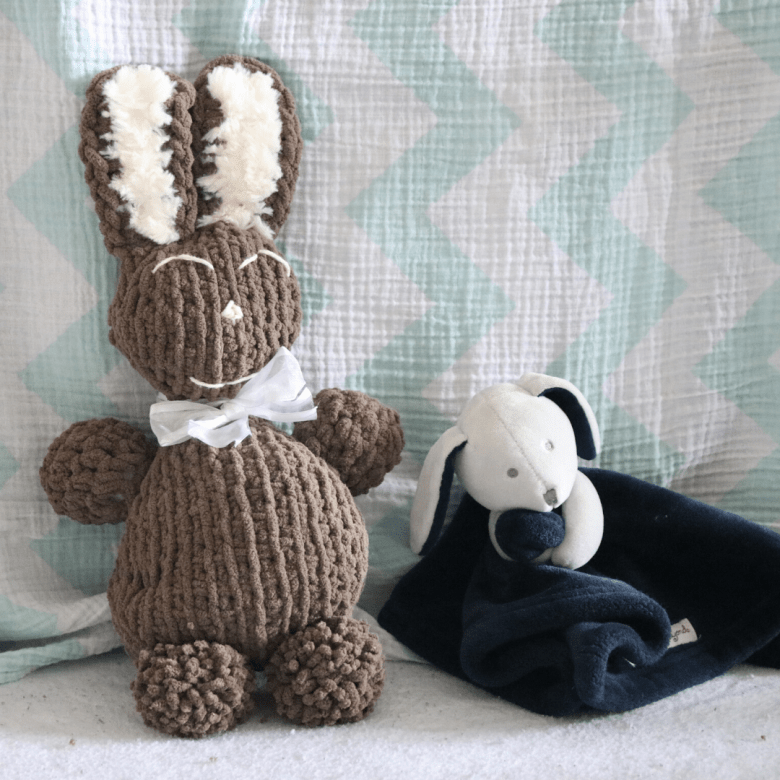 Looking for a fun easy crochet bunny pattern? Join me for a Tunisian crochet along for Bubsy the Bunny made in 3 parts with full video tutorials on YouTube!
