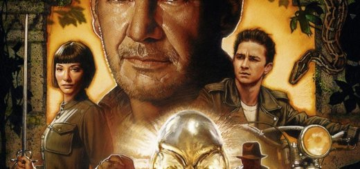 """Plakat von """"Indiana Jones und das Königreich des Kristallschädels"""""""