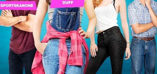 """Plakat von """"DUFF - Hast du keine, bist du eine"""""""
