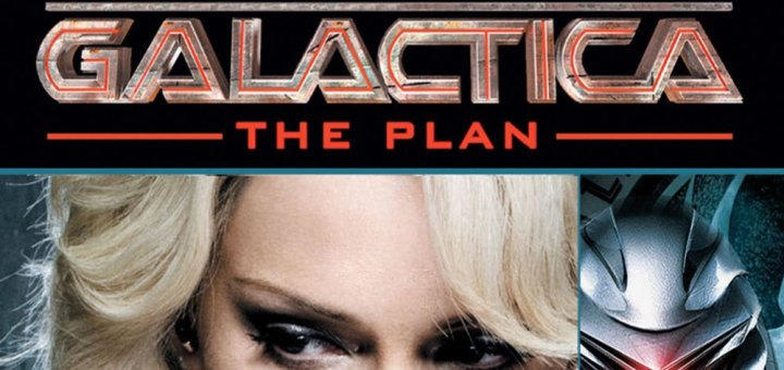 "Plakat von ""Battlestar Galactica: The Plan"""