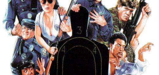 """Plakat von """"Police Academy 3 - … und keiner kann sie bremsen"""""""