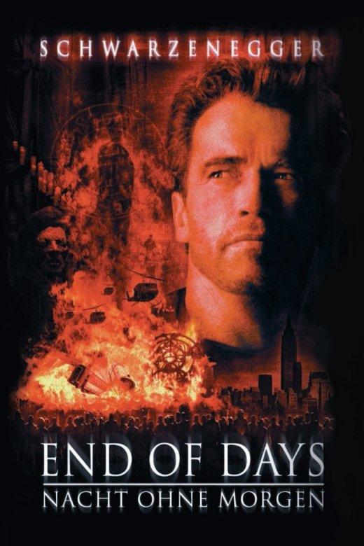 """Plakat von """"End of Days - Nacht ohne Morgen"""""""