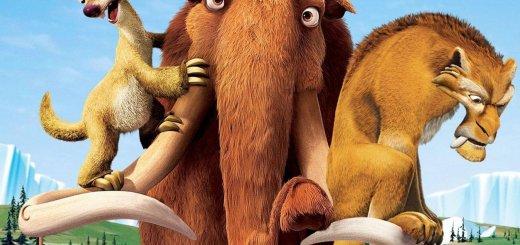 """Plakat von """"Ice Age 2 - Jetzt taut's"""""""