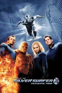 "Plakat von ""Fantastic Four - Rise of the Silver Surfer"""