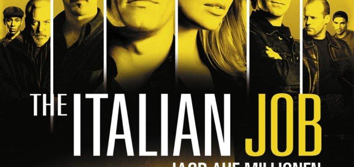 """Plakat von """"The Italian Job - Jagd auf Millionen"""""""