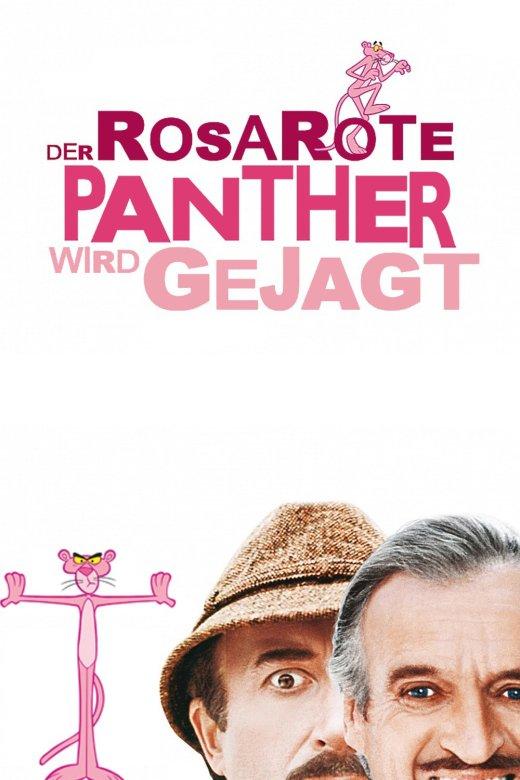 """Plakat von """"Der rosarote Panther wird gejagt"""""""