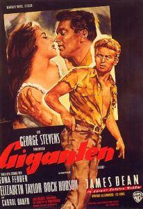 """Plakat von """"Giganten"""""""