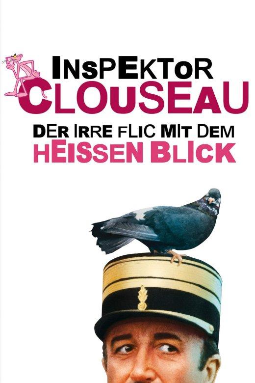 """Plakat von """"Inspektor Clouseau - Der irre Flic mit dem heißen Blick"""""""