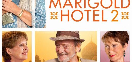 """Plakat von """"Best Exotic Marigold Hotel 2"""""""