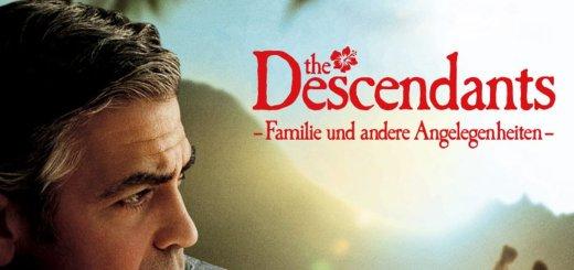 """Plakat von """"The Descendants - Familie und andere Angelegenheiten"""""""