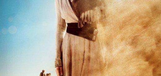 """Plakat von """"Königin der Wüste"""""""
