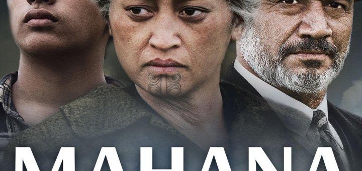 "Plakat von ""Mahana - Eine Maori-Saga"""