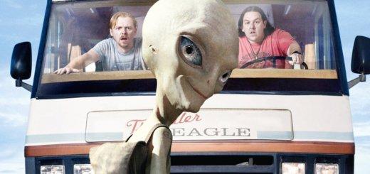 """Plakat von """"Paul - Ein Alien auf der Flucht"""""""