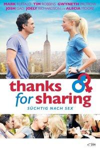 """Plakat von """"Thanks for Sharing - Süchtig nach Sex"""""""