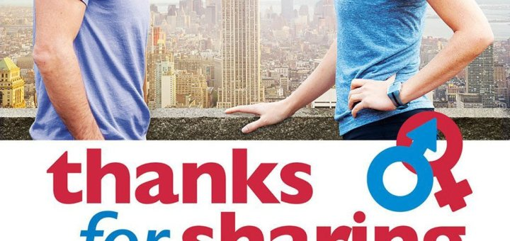 "Plakat von ""Thanks for Sharing - Süchtig nach Sex"""