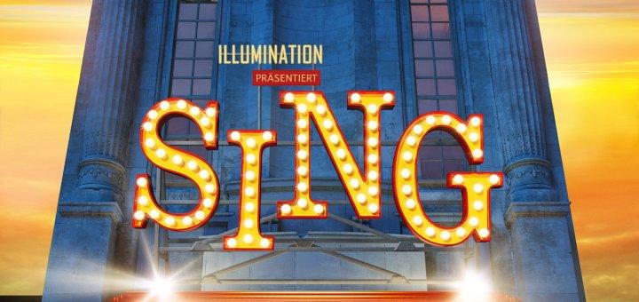 """Plakat von """"Sing"""""""
