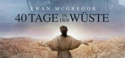 """Plakat von """"40 Tage in der Wüste"""""""