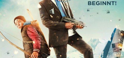 """Plakat von """"Big Game – Die Jagd beginnt"""""""