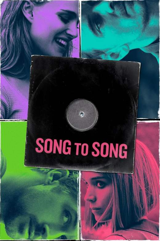 """Plakat von """"Song to Song"""""""