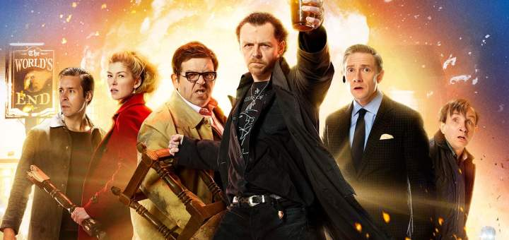 "Plakat von ""The World's End"""