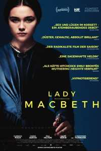 """Plakat von """"Lady Macbeth"""""""