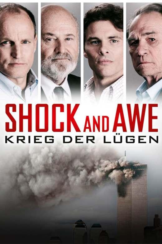 """Plakat von """"Shock and Awe – Krieg der Lügen"""""""