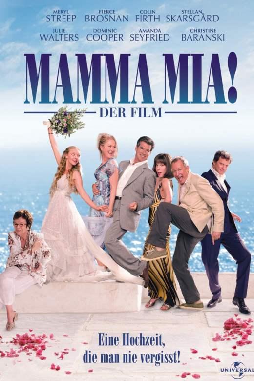 "Plakat von ""Mamma Mia!"""