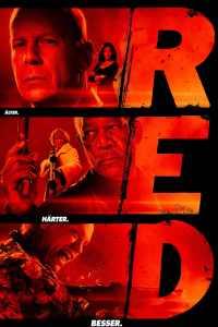 """Plakat von """"R.E.D. - Älter. Härter. Besser."""""""