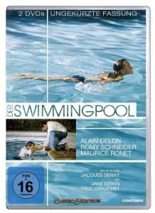 """Plakat von """"Der Swimmingpool"""""""