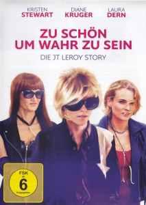 """Plakat von """"Zu schön um wahr zu sein - Die JT Leroy Story"""""""