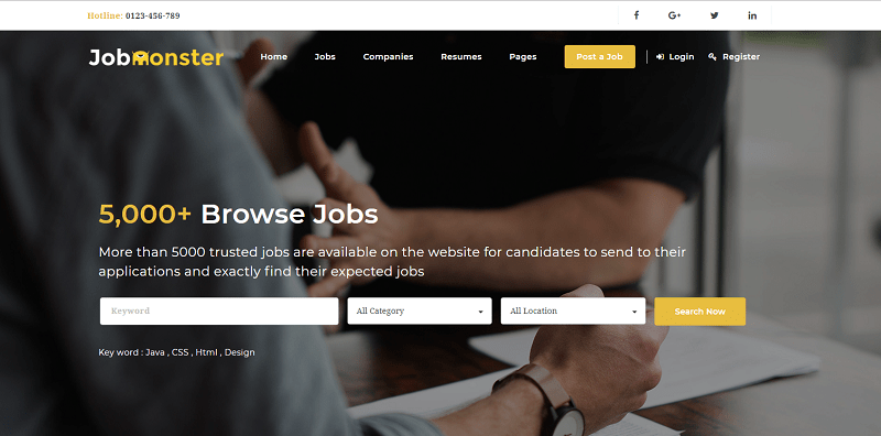Job Board WordPress Theme