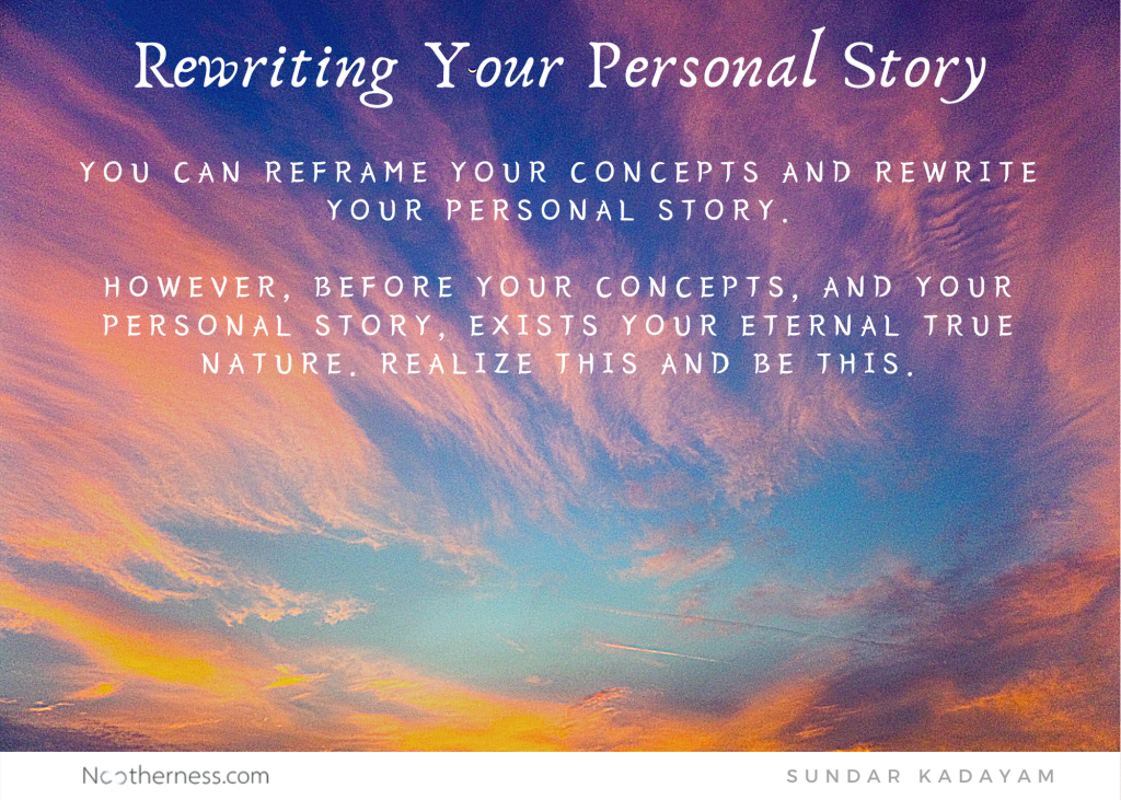 How to rewrite your personal story