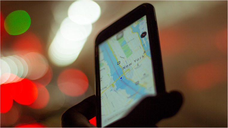 smartphone Gps App New York