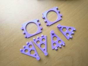 Sponge Holder Hook Parts 3D Printed Polypanels