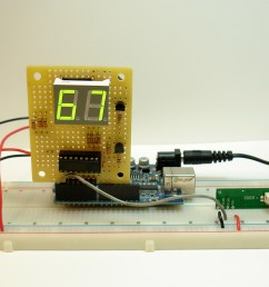rf receiver with temperature display [ 1280 x 960 Pixel ]