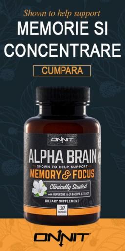 alpha brain cumpara romania