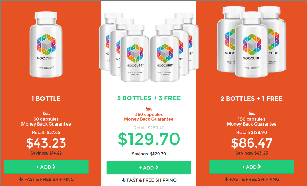 Noocube Special Discount Offers