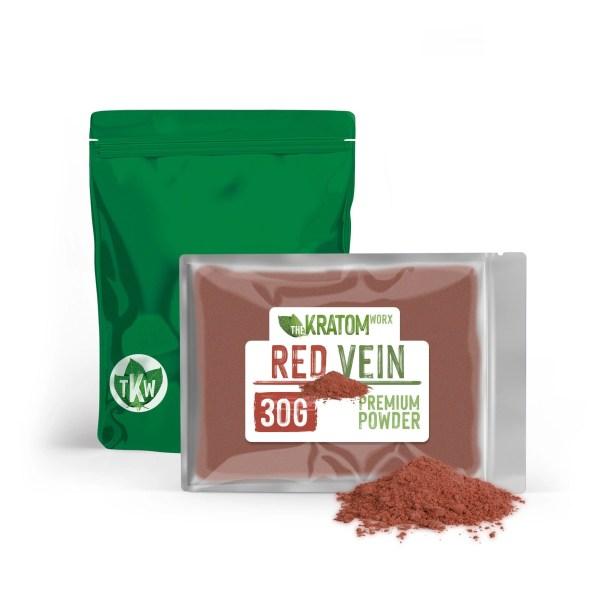Kratom Red Vein Powder 30g