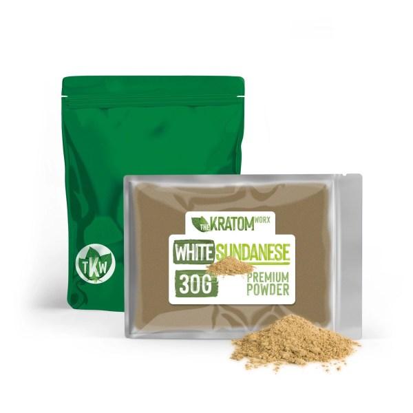 Kratom White Sundanese Powder 30g