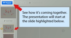 How to use Prezi presentation LyndalCairns