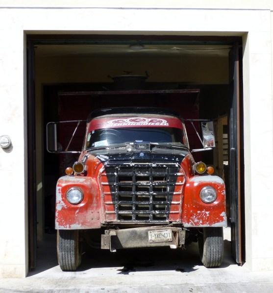 Old diesel truck - Merida